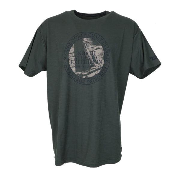 Everbest CS19518 Ανδρικό Μπλουζάκι Λαδί 3