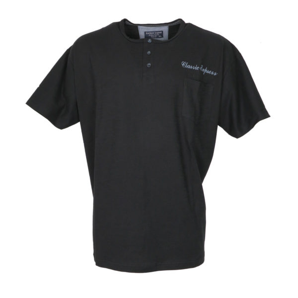 Everbest CS19142 Ανδρικό Μπλουζάκι Μαύρο 3