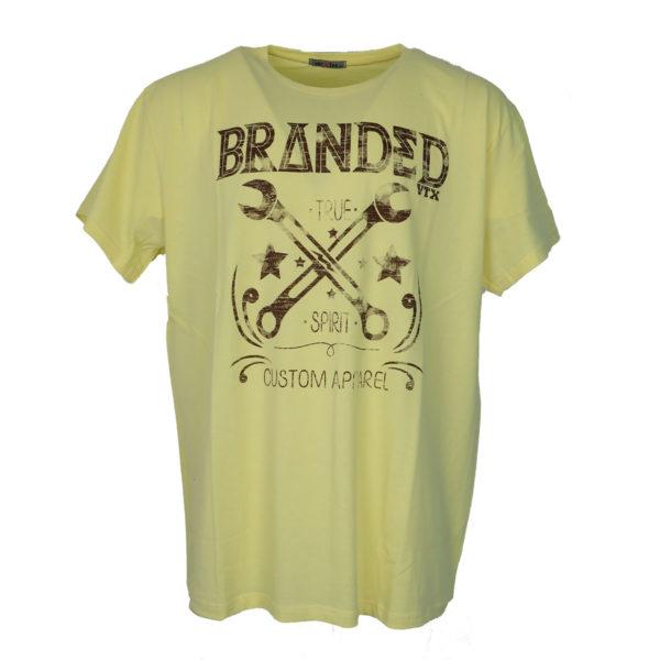Vortex 04-449 Ανδρικό Μπλουζάκι Κίτρινο 3