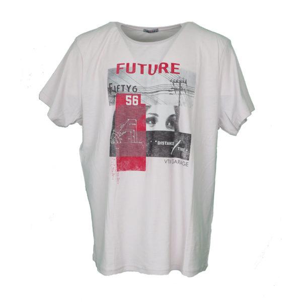 Vortex 04-937 Ανδρικό Μπλουζάκι Εκρού 3