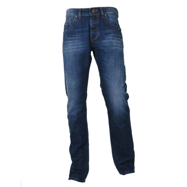 CABELL 337-1D Ανδρικό Παντελόνι Τζίν Μπλέ 3