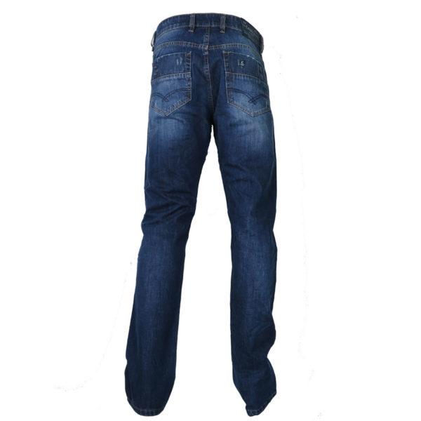 CABELL 337-1D Ανδρικό Παντελόνι Τζίν Μπλέ 4