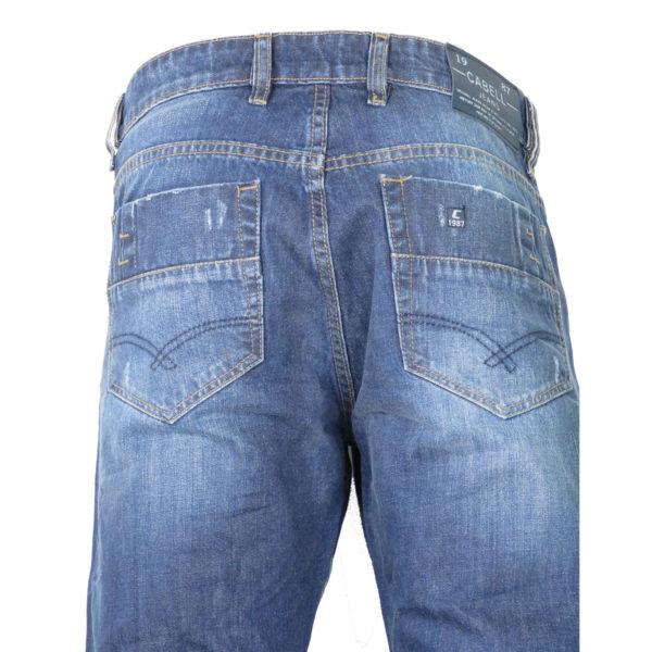 CABELL 337-1D Ανδρικό Παντελόνι Τζίν Μπλέ 5