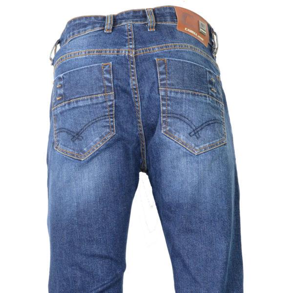 CABELL 337-1F Ανδρικό Παντελόνι Τζίν Μπλέ 5