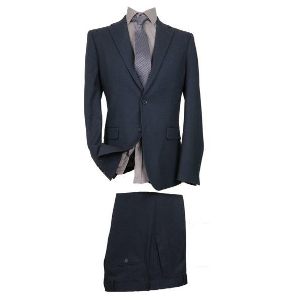 NEW YORK TAILORS 001.16.BIAGGIO Ανδρικό Κοστούμι Μπλέ 2