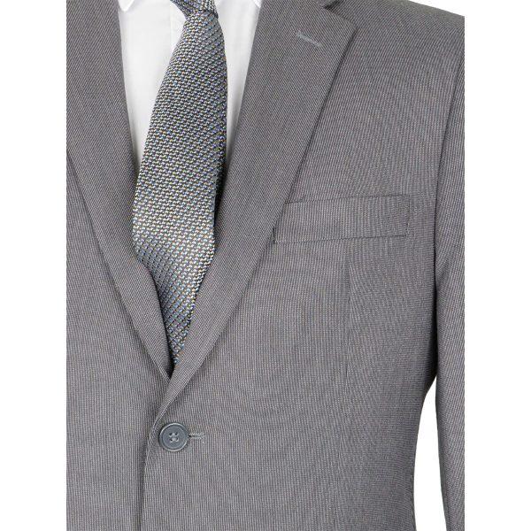New York Tailors 001.18 BELLO  Ανδρικό Κοστούμι Γκρί 4