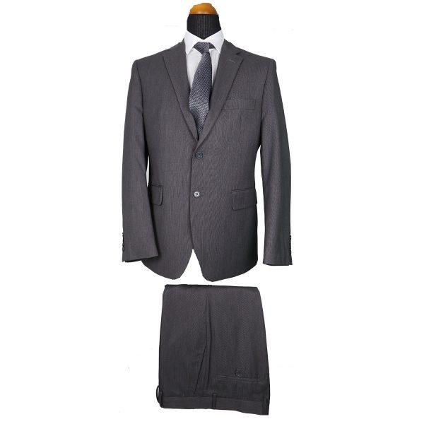 New York Tailors 001.18 BELLO  Ανδρικό Κοστούμι Γκρί 3