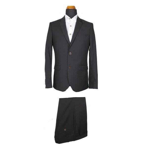 Italian Job J721705/02 Ανδρικό Κοστούμι Μαύρο 3