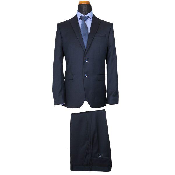 Italian Job J811510/01 Ανδρικό Κοστούμι Μπλέ 3