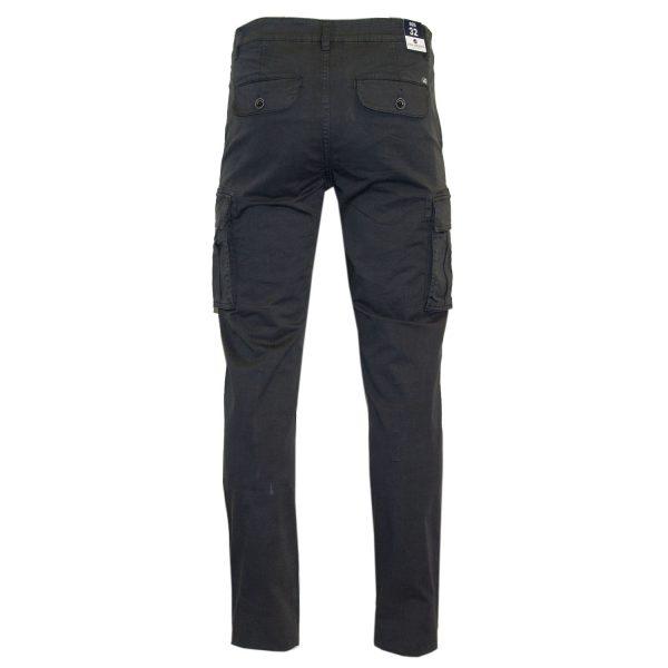 Van Hipster 71727 Ανδρικό Παντελόνι Γκρί Σκούρο 4