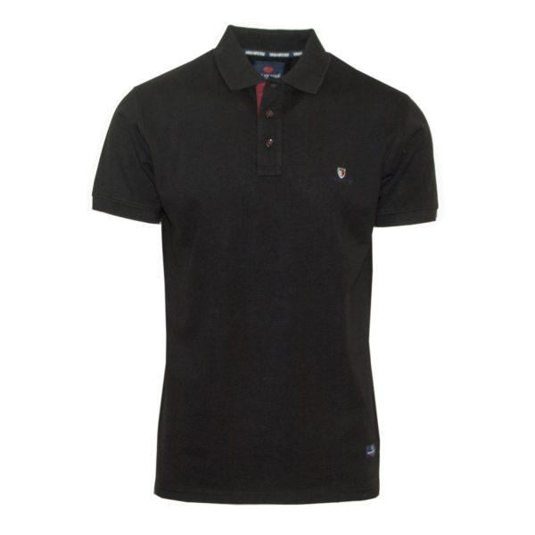 Van Hipster 717361-01 Big Size Ανδρική Μπλούζα Μαύρη 3