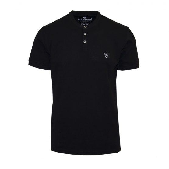 Van Hipster 71781-01 Ανδρική Μπλούζα Μαύρο 3