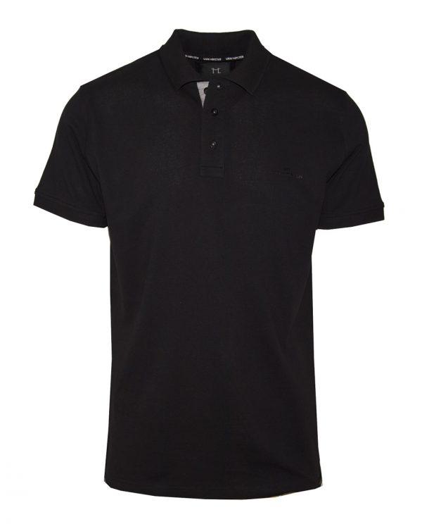 Van Hipster 718901 Big Size Ανδρική Μπλούζα Μαύρη 3