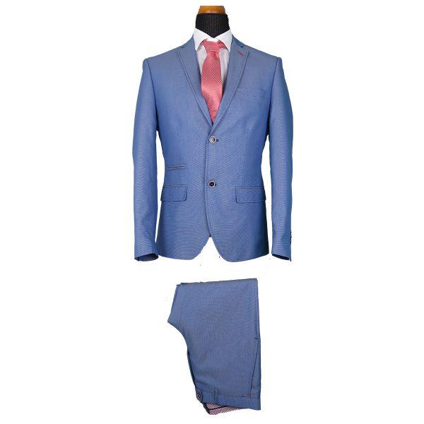 Alter Ego 4501/901 Ανδρικό Κοστούμι Σιέλ 3