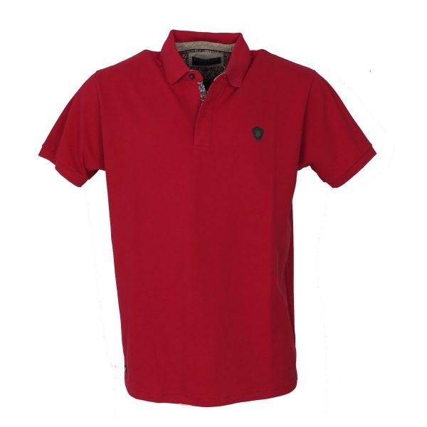 Everbest 20839-0 Ανδρική Μπλούζα Κόκκινο 3