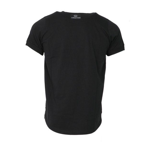Cotton 4All 20-924 Ανδρική Μπλούζα Μαύρη 5