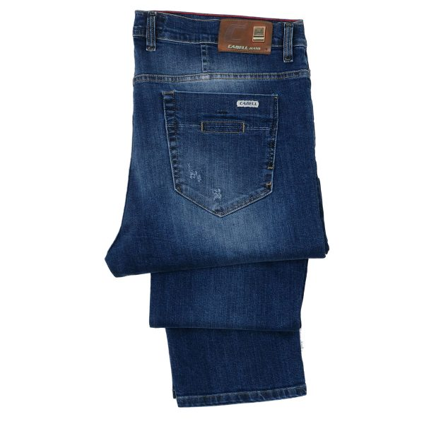 Cabell 1336-6D Ανδρικό Τζίν Παντελόνι Μπλέ Big Size 6