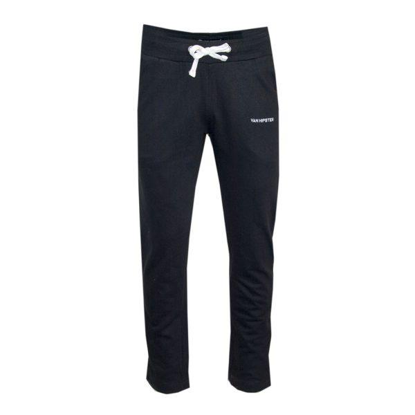 Van Hipster 71774-1 Ανδρικό Παντελόνι Φούτερ Μαύρο 3