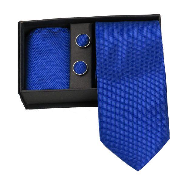 Privato 86 Ανδρική Γραβάτα Μπλέ Ρουά 3