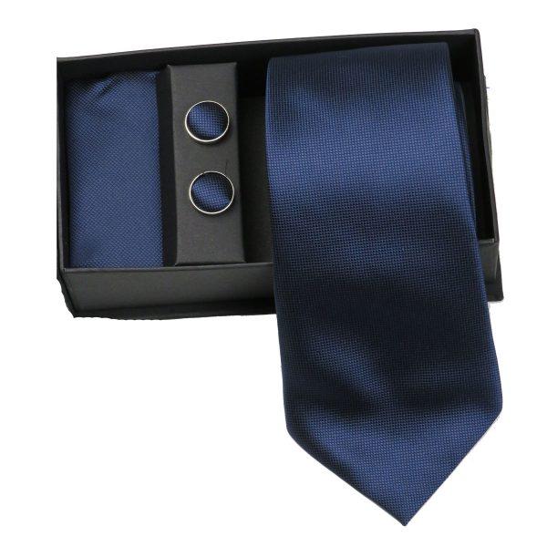 Privato 82 Ανδρική Γραβάτα Μπλέ 3