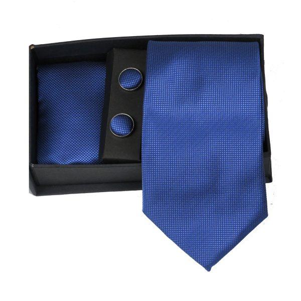 Privato 86 Ανδρική Γραβάτα Μπλέ Ανοιχτό 3