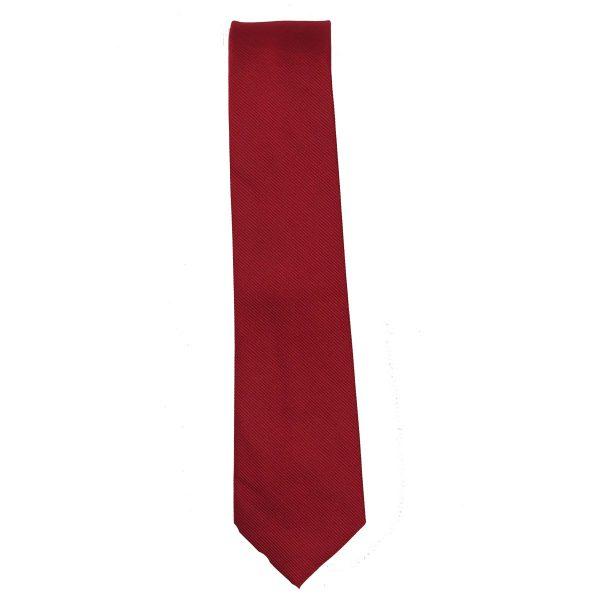 Privato 93 Ανδρική Γραβάτα Κόκκινο 3
