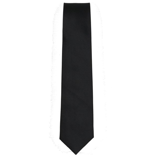 Privato 90 Ανδρική Γραβάτα Μαύρη 3