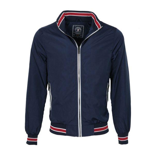 New York Tailors 022.17.JERROD Ανδρικό Μπουφάν Μπλέ 3
