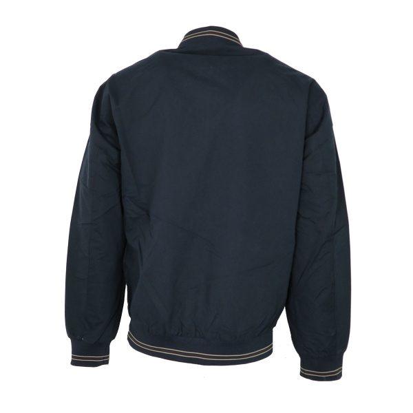 New York Tailors 022.17.CELSO Ανδρικό Μπουφάν Μπλέ/Μπέζ Big Size 5