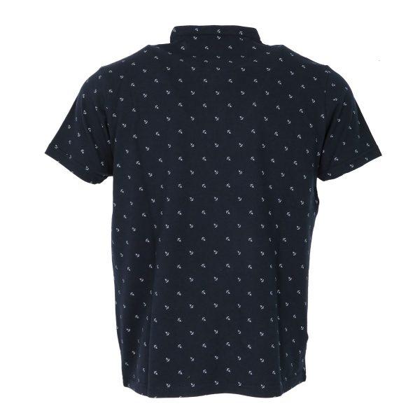 New York Tailors 011.17.Jason Ανδρική Μπλούζα Μάο Μπλέ 4