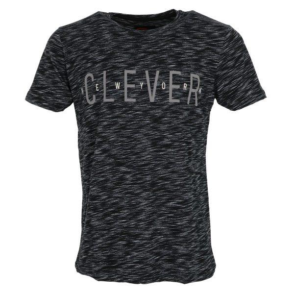 CLEVER CT-20630 Ανδρική Μπλούζα Μαύρο 3