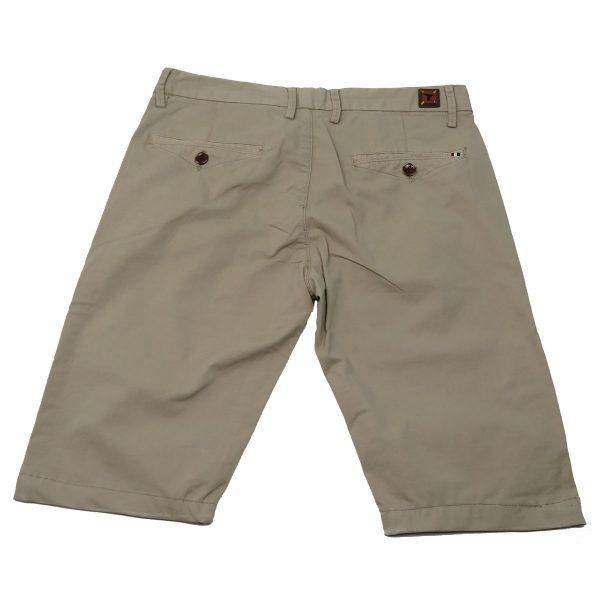New York Tailors 004.15.GRANT 1 Ανδρική Βερμούδα Μπέζ 4