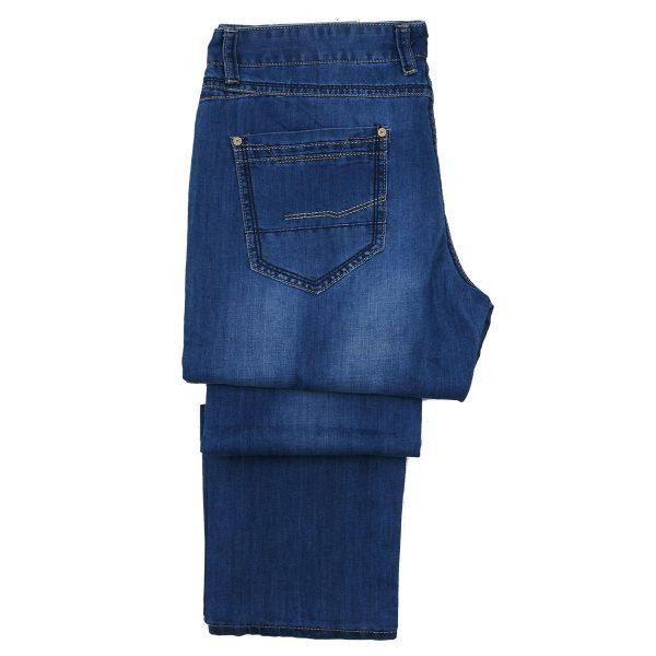 Privato 2476 Ανδρικό Παντελόνι Μπλέ Τζίν 5