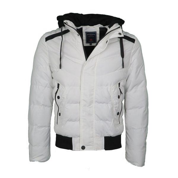 Privato AA110006-3 Ανδρικό Μπουφάν Λευκό 3