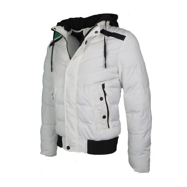 Privato AA110006-3 Ανδρικό Μπουφάν Λευκό 4