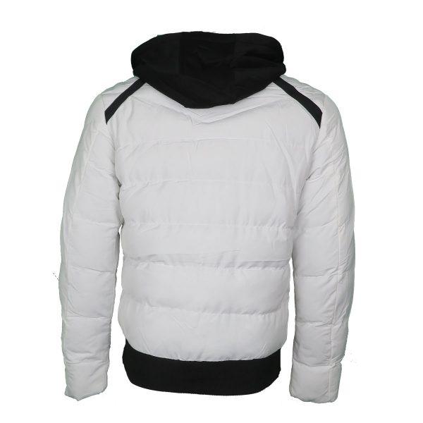 Privato AA110006-3 Ανδρικό Μπουφάν Λευκό 5