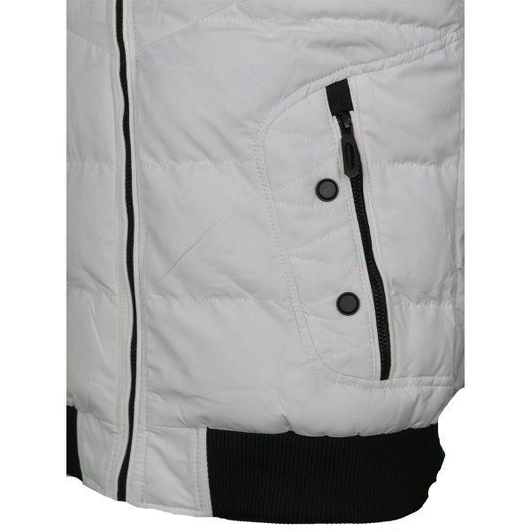 Privato AA11005-6 Ανδρικό Αμάνικο Μπουφάν Λευκό 5