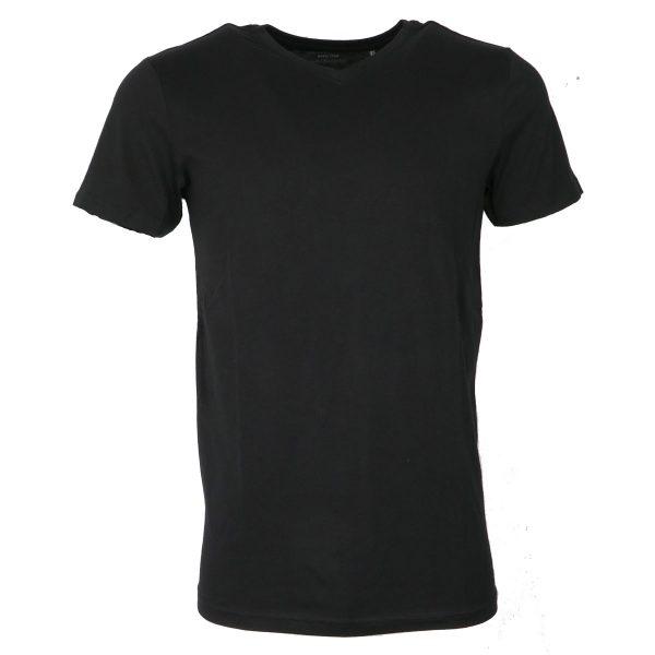 Gnious 28-300540  9098 Ανδρικό Μπλουζάκι Μαύρο Βέ 3