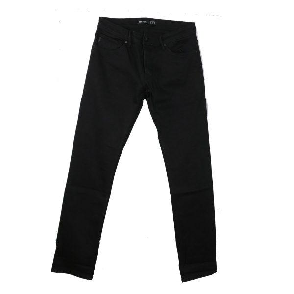 Tiffosi 10020615-900 Ανδρικό Παντελόνι Τζίν Μαύρο 3