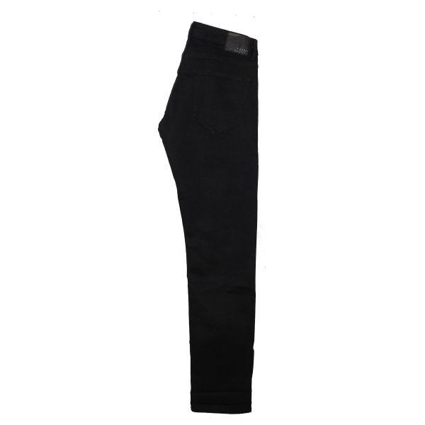 Tiffosi 10020615-900 Ανδρικό Παντελόνι Τζίν Μαύρο 6