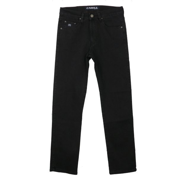 Cabell 617 Ανδρικό Παντελόνι Τζίν Μαύρο 3