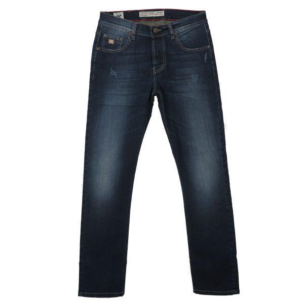 Cabell 1319-D Ανδρικό Παντελόνι Τζίν Μπλέ Big Size 3