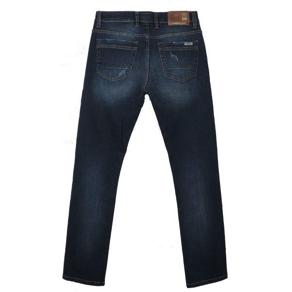 Cabell 1319-D Ανδρικό Παντελόνι Τζίν Μπλέ Big Size 5