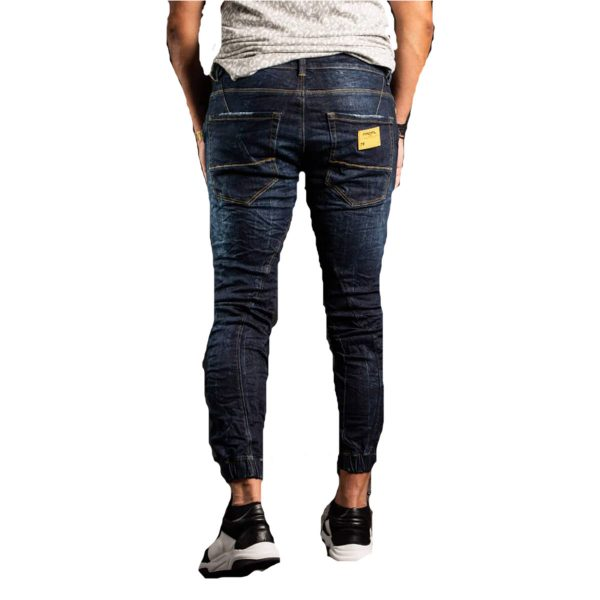 Profil 3001 Ανδρικό Παντελόνι Τζίν Μπλέ 4