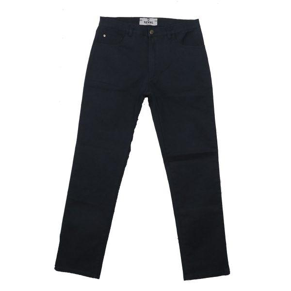 REVAL NADTHE-20 Ανδρικό Παντελόνι  Καπαρντίνα Μπλέ 3