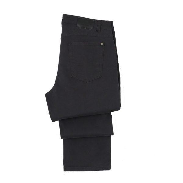 REVAL NADTHE-20 Ανδρικό Παντελόνι Καπαρντίνα Γκρί Σκούρο 6