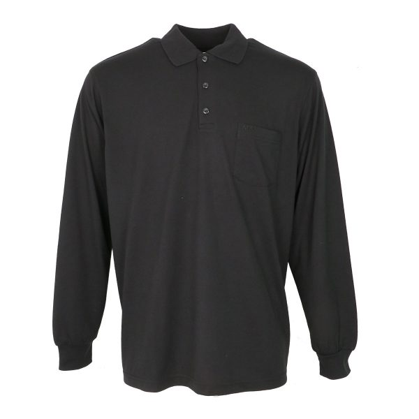 Privato 995 Aνδρική Μπλούζα Πόλο Μαύρη 3