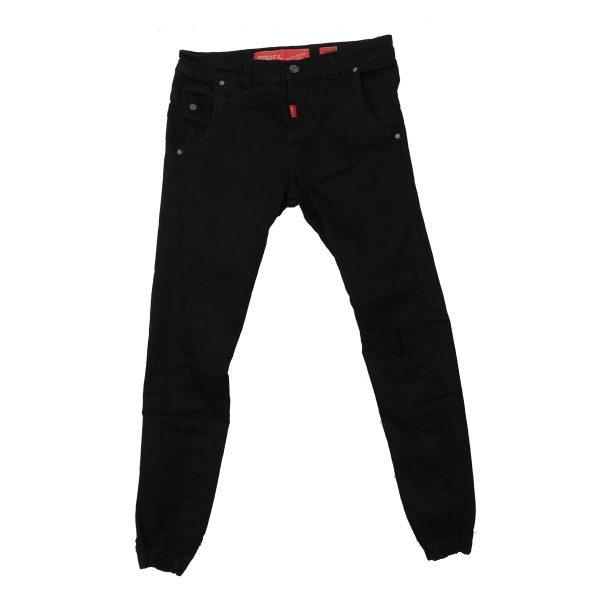 Profil 3002 Ανδρικό Παντελόνι Τζίν Μαύρο 3