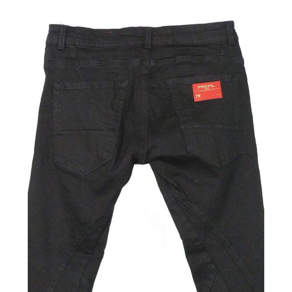 Profil 3002 Ανδρικό Παντελόνι Τζίν Μαύρο 5