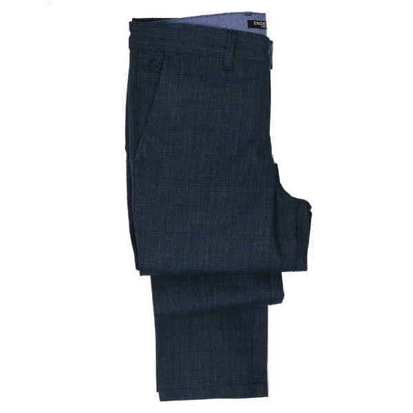 ENDESON 645 Ανδρικό Παντελόνι Μπλέ 5